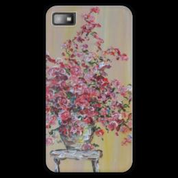 "Чехол для Blackberry Z10 ""Безмолвие"" - счастье, красота, flowers, pink, розы, roses, букет"