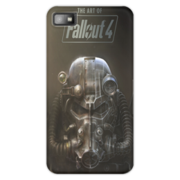 """Чехол для Blackberry Z10 """"The ART of Fallout 4"""" - fallout, steam, bethesda, фаллаут, fallout 4"""