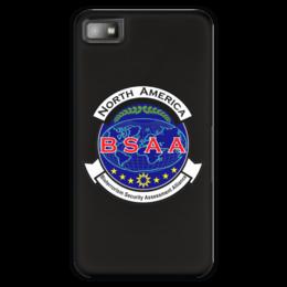 "Чехол для Blackberry Z10 ""Resident Evil. BSAA"" - resident evil, umbrella, re, bsaa, racoon city"