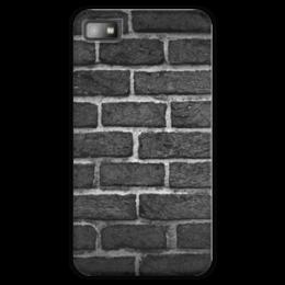 "Чехол для Blackberry Z10 ""Кирпичный"" - узор, стиль, стена, камень, кирпич"