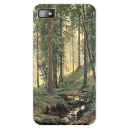 "Чехол для Blackberry Z10 ""Ручей в лесу"" - картина, шишкин"