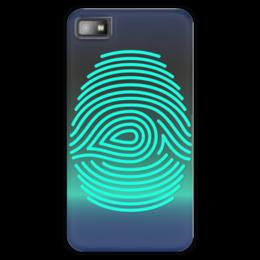 """Чехол для Blackberry Z10 """"Отпечаток пальца"""" - арт, рука, рисунок, палец, отпечаток"""