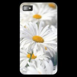 """Чехол для Blackberry Z10 """"Ромашки"""" - цветы, цветок, белый, ромашка, желтый"""