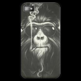 "Чехол для Blackberry Z10 ""Smoke Em If You Got Em"" - животные, обезьяна, monkey, smoking, приматы"