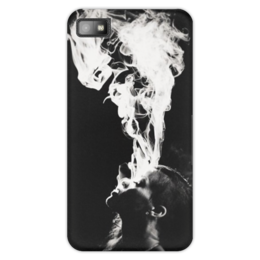"Чехол для Blackberry Z10 ""Rihanna Smoke"" - smoke, дым, rihanna, рианна, ри"
