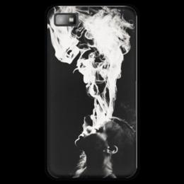 "Чехол для Blackberry Z10 ""Rihanna Smoke"" - smoke, дым, rihanna, рианна, ри"