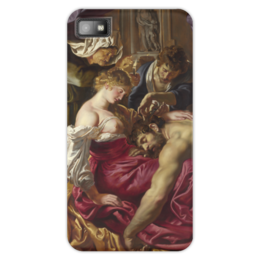 "Чехол для Blackberry Z10 ""Самсон и Далила (картина Питера Пауля Рубенса)"" - картина, библия, рубенс"