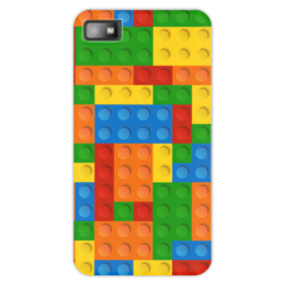 """Чехол для Blackberry Z10 """"Конструктор Лего"""" - игрушка, конструктор, детский рисунок, лего"""