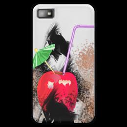 "Чехол для Blackberry Z10 ""Яблочный микс"" - напиток, абстракция, яблоко, фрукт, натюрморт"
