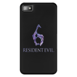 "Чехол для Blackberry Z10 ""Resident Evil 6"" - игра, обитель зла, resident evil, umbrella, re"