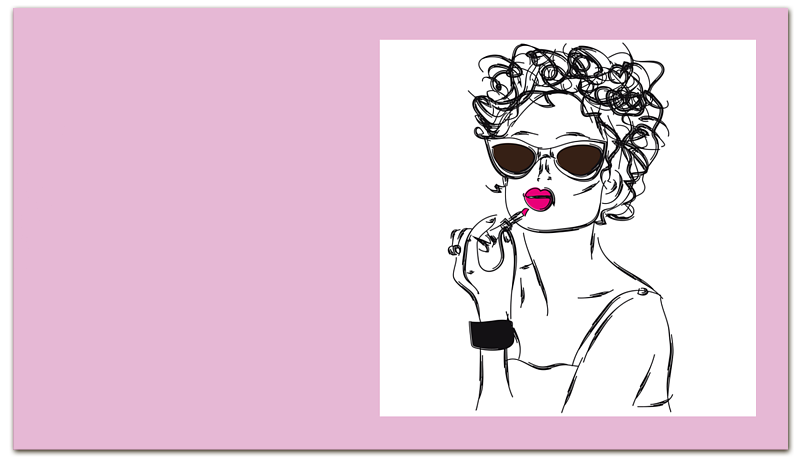 Визитная карточка Printio Девушка. цена