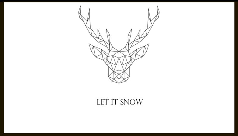 Визитная карточка Printio Dear deer отсутствует автомир 35 2017