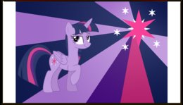 "Визитная карточка ""Twilight Sparkle Color Line"" - twilight sparkle, cutiemark, princess"