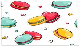 """Визитная карточка """"Печеньки. """" - еда, визитка, визитки, бизнес"""