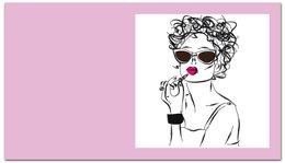 """Визитная карточка """"Девушка. """" - девушка, визитки, для бизнеса, визитные карточки"""