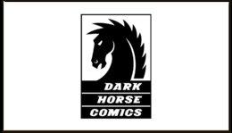 """Визитная карточка """"Dark Horse Comics"""" - комиксы, dark horse comics, тёмная лошадка"""