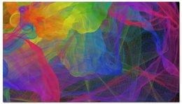 """Визитная карточка """"Абстракция"""" - арт, радуга, краски, абстракция, иллюстрация"""