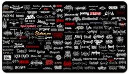 """Визитная карточка """"Metal """" - музыка, music, metal, rock, день рождения"""