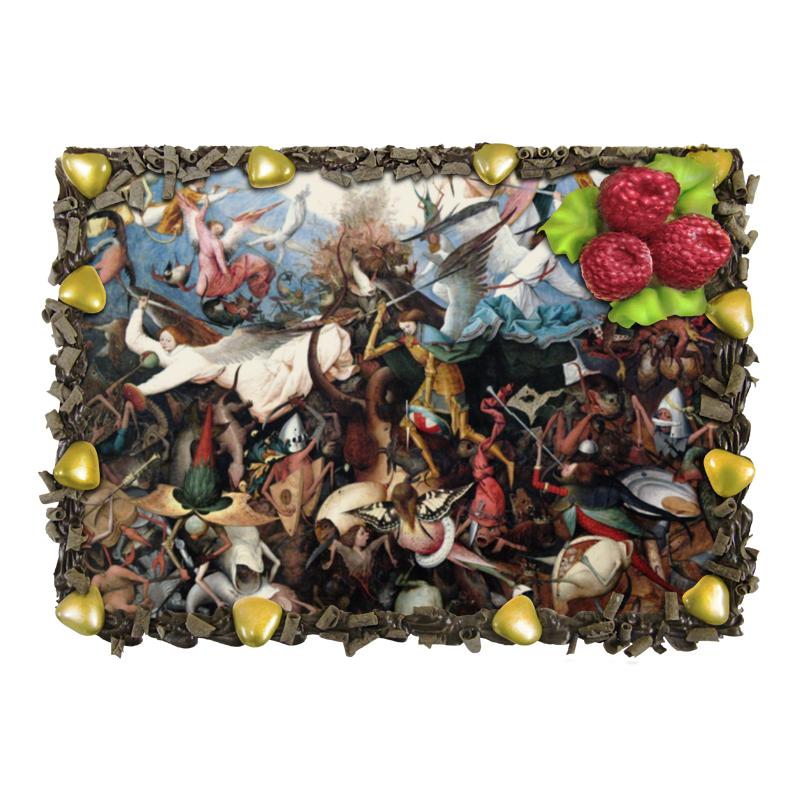 Торт Printio Падение мятежных ангелов (питер брейгель) торт printio триумф смерти питер брейгель старший