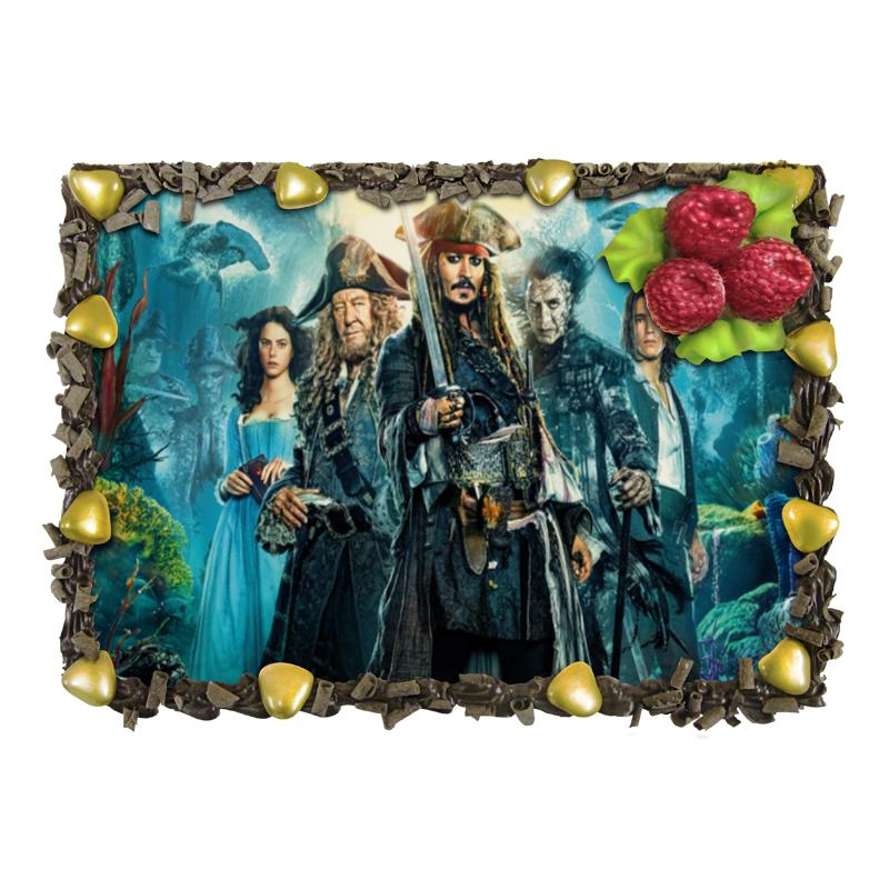 Торт Printio «пираты карибского моря». альфас часть пятая