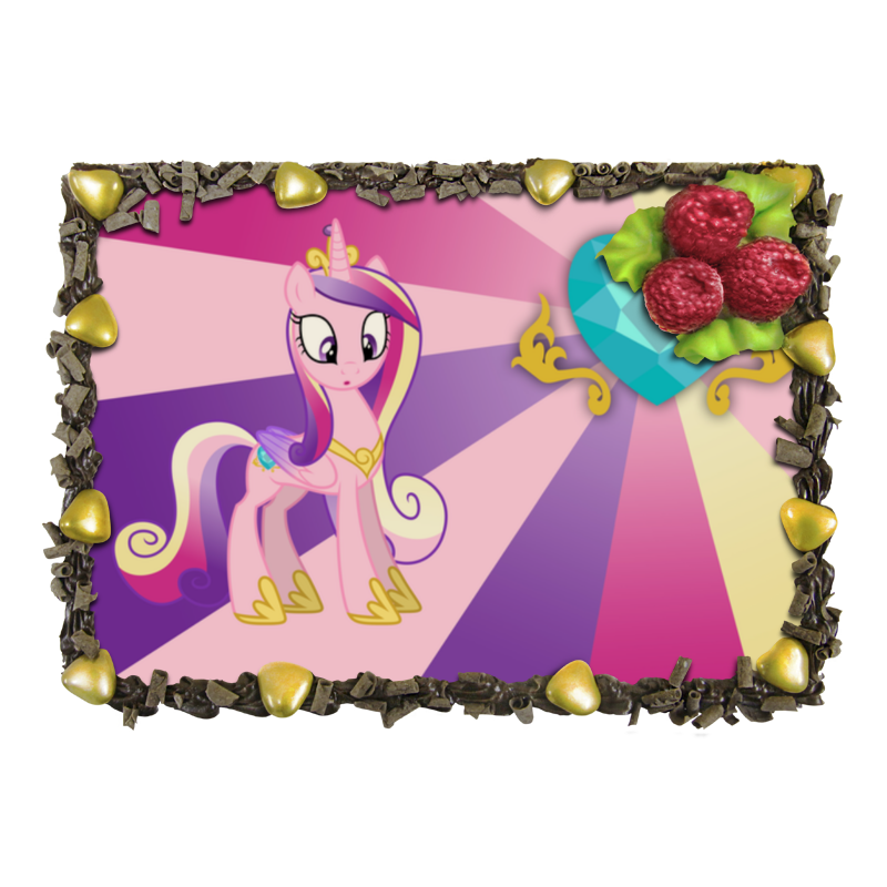 Торт Printio Princess cadence color line отсутствует автомир 35 2017