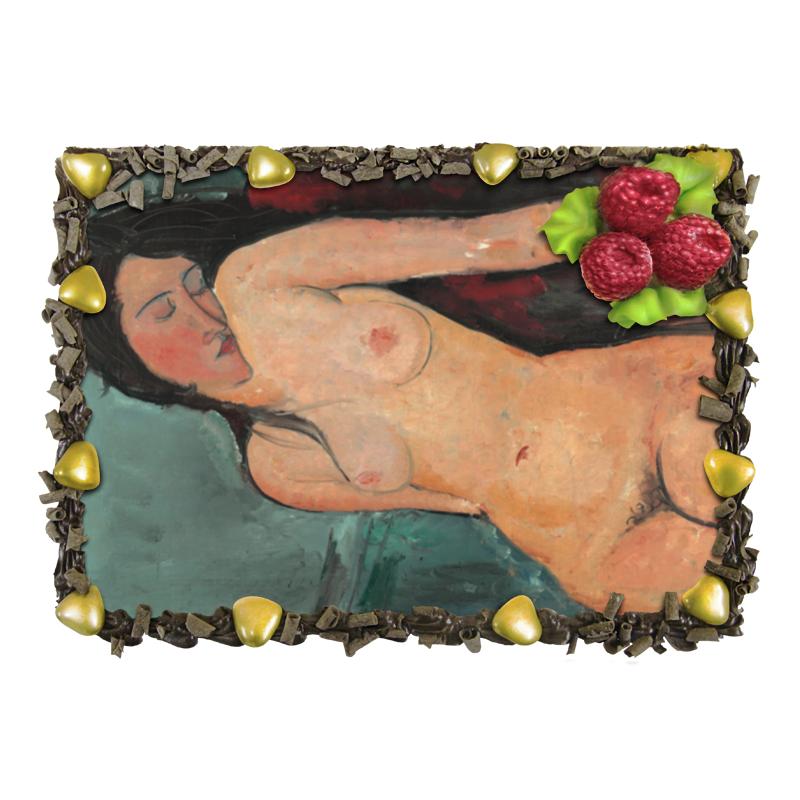 Торт Printio Сидящая обнажённая (картина модильяни, 1916) отсутствует автомир 35 2017