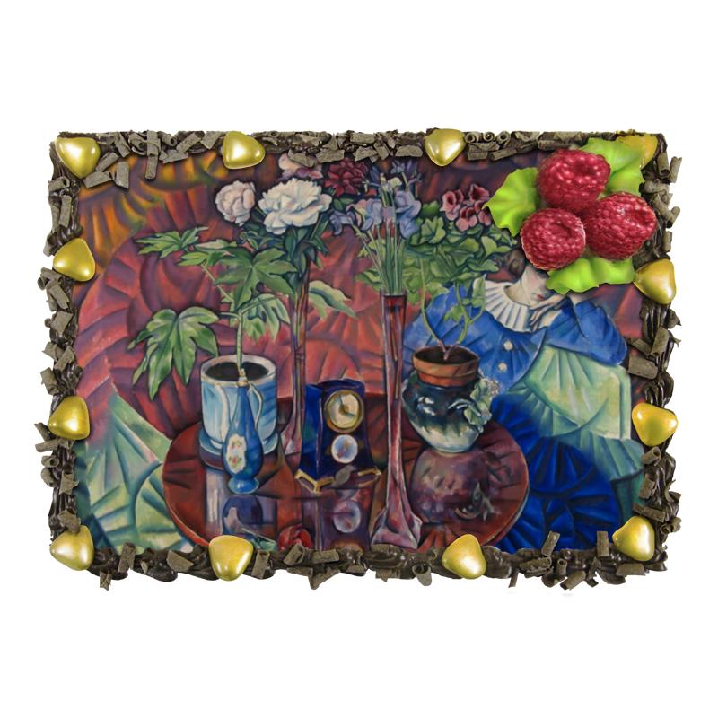 Торт Printio Кузина с цветами (владимир баранов-россине) отсутствует владимир григорьевич гусаков