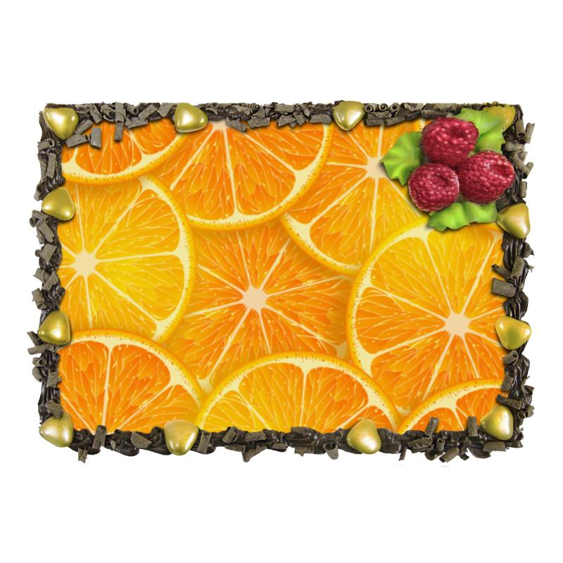 Торт Printio Апельсины отсутствует автомир 35 2017