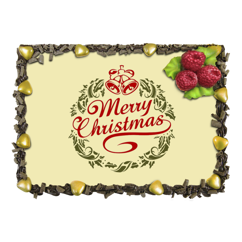 Торт Printio Merry christmas scrapbook diy photo cards account rubber stamp clear stamp finished transparent chapter merry bright christmas 19 5x23 5cm sd162