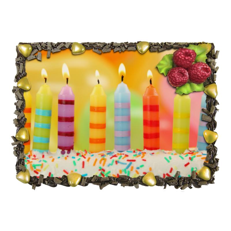 Торт Printio С днём рождения отсутствует автомир 35 2017