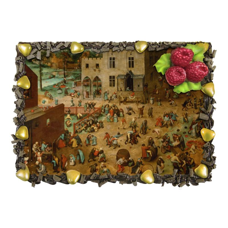 Торт Printio Детские игры (питер брейгель)