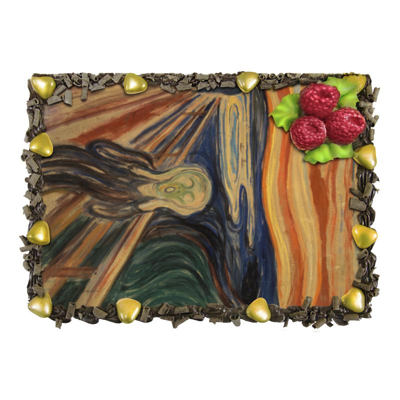 Торт Printio Крик (картина мунка) тетрадь на скрепке printio крик картина мунка