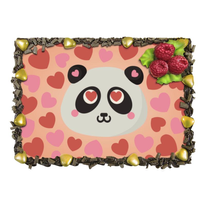 Торт Printio Влюбленная панда отсутствует автомир 35 2017