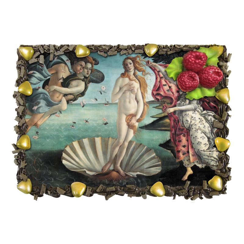 Торт Printio Рождение венеры (картина боттичелли) картина весна боттичелли