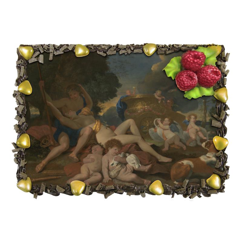 Торт Printio Венера и адонис (никола пуссен) никола квас никола традиционный 2л
