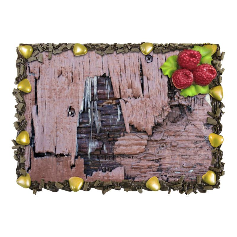 Торт Printio деревянная отсутствует автомир 35 2017