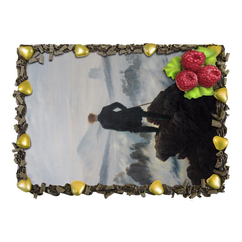 Торт Printio Странник над морем тумана (каспар фридрих) торт printio северный ледовитый океан фридрих