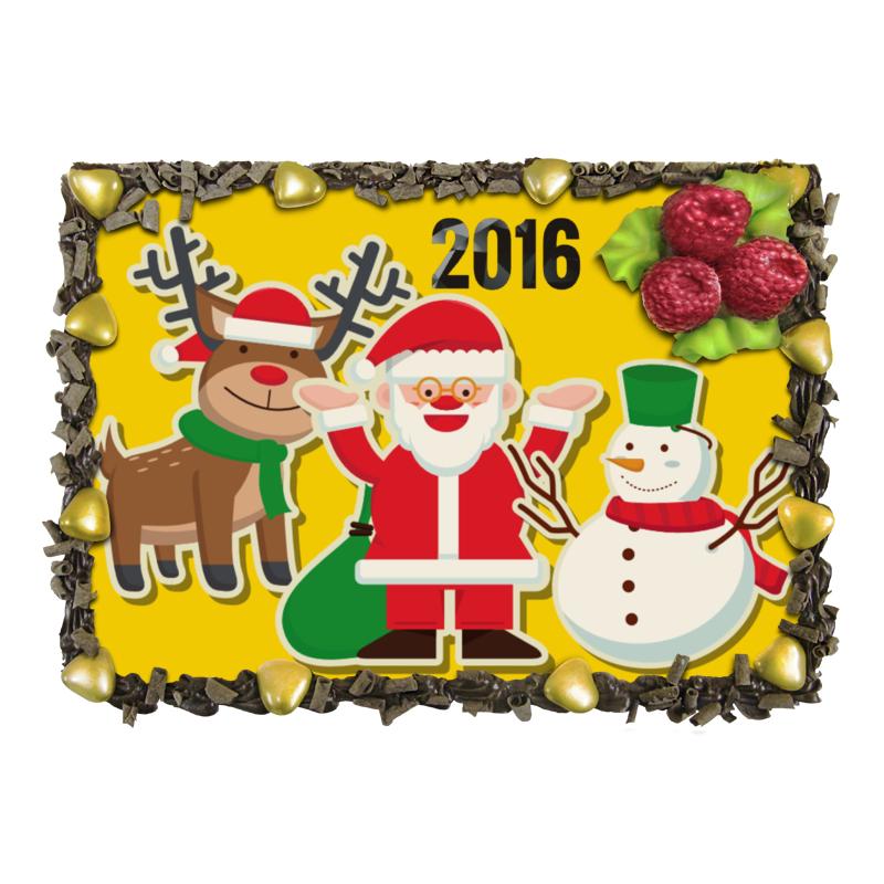Торт Printio Новый 2016 год! бриз app новый жесткий слой бумаги 172 г чистого 3 туалетная бумага 27 новый и старый попеременно грузить пакет продаж fcl