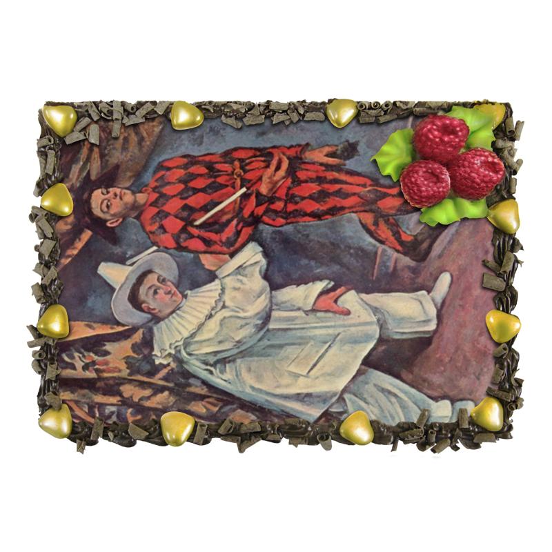 Торт Printio Пьеро и арлекин (поль сезанн) торт printio забава злого духа поль гоген