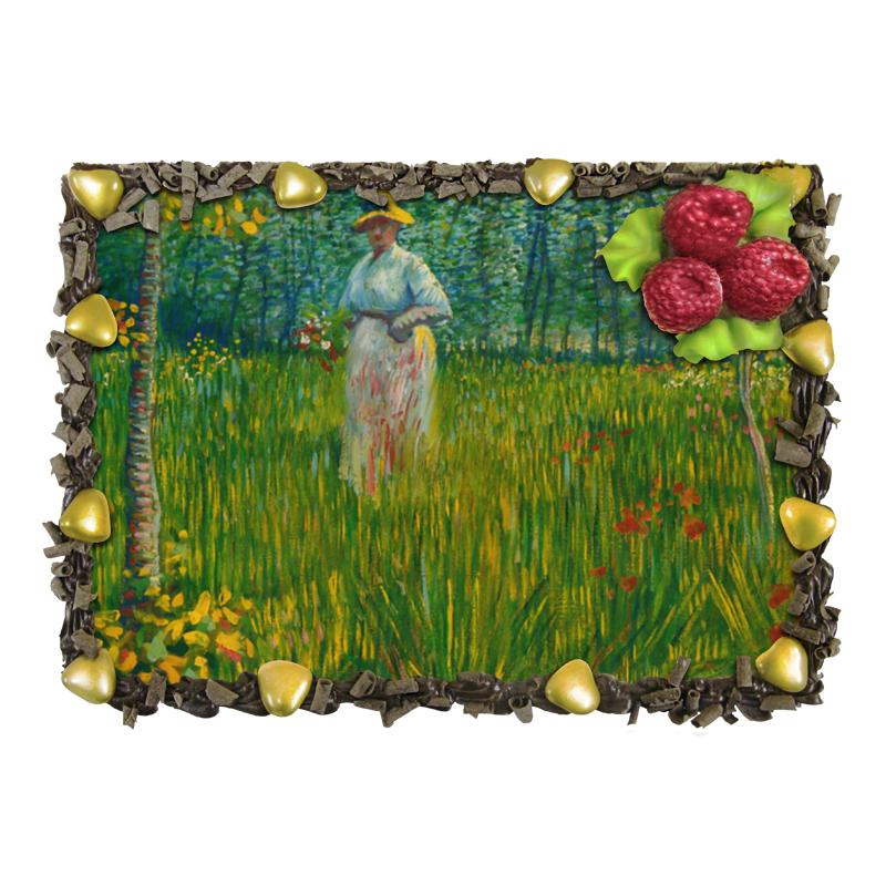 Торт Printio Женщина в саду (винсент ван гог) отсутствует автомир 35 2017