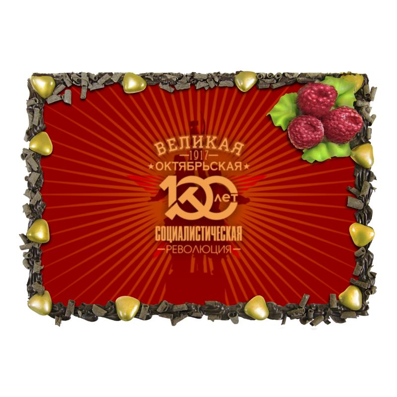 Торт Printio Октябрьская революция холст 30x60 printio октябрьская революция