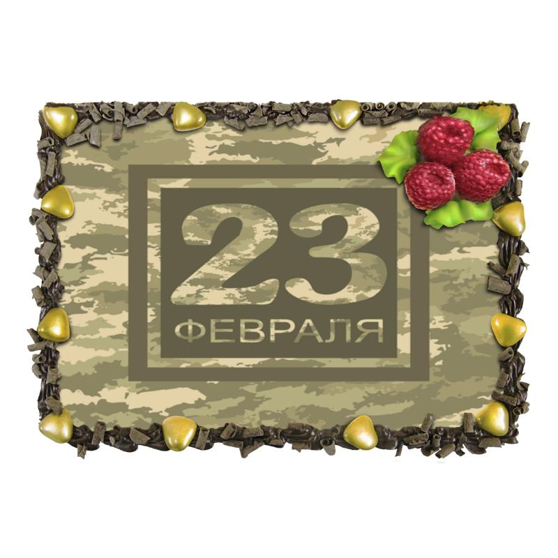 Торт Printio Камуфляж военный 23 февраля торт printio прикольный на 23 февраля пинап андрея тарусова