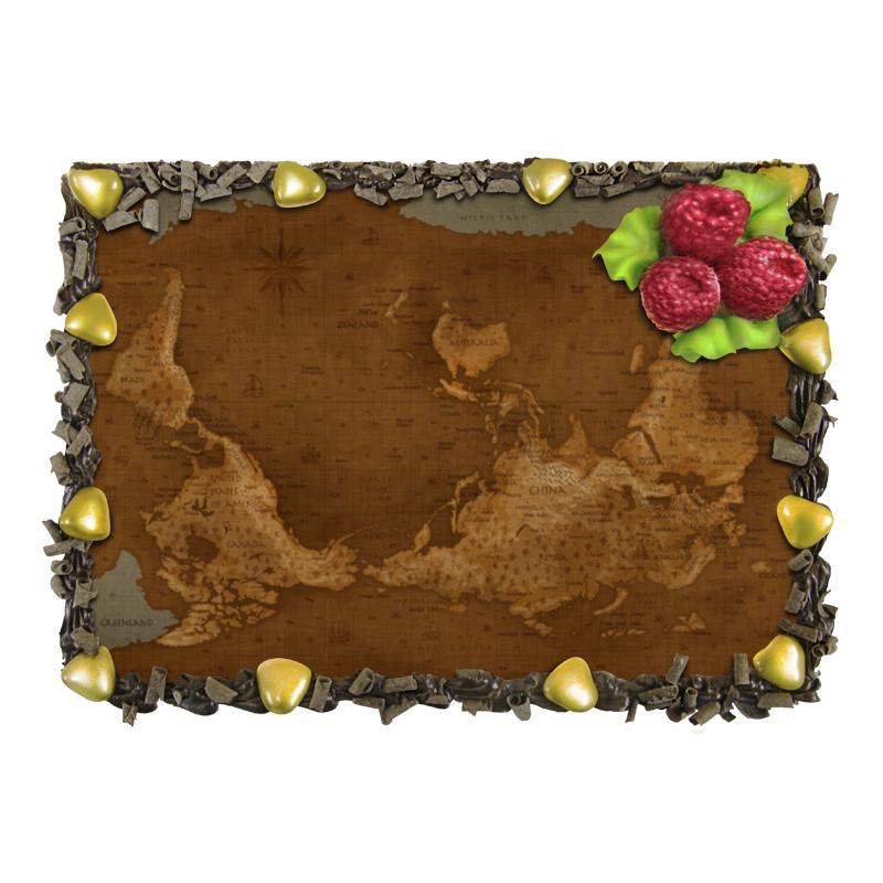 Торт Printio Карта мира отсутствует автомир 35 2017