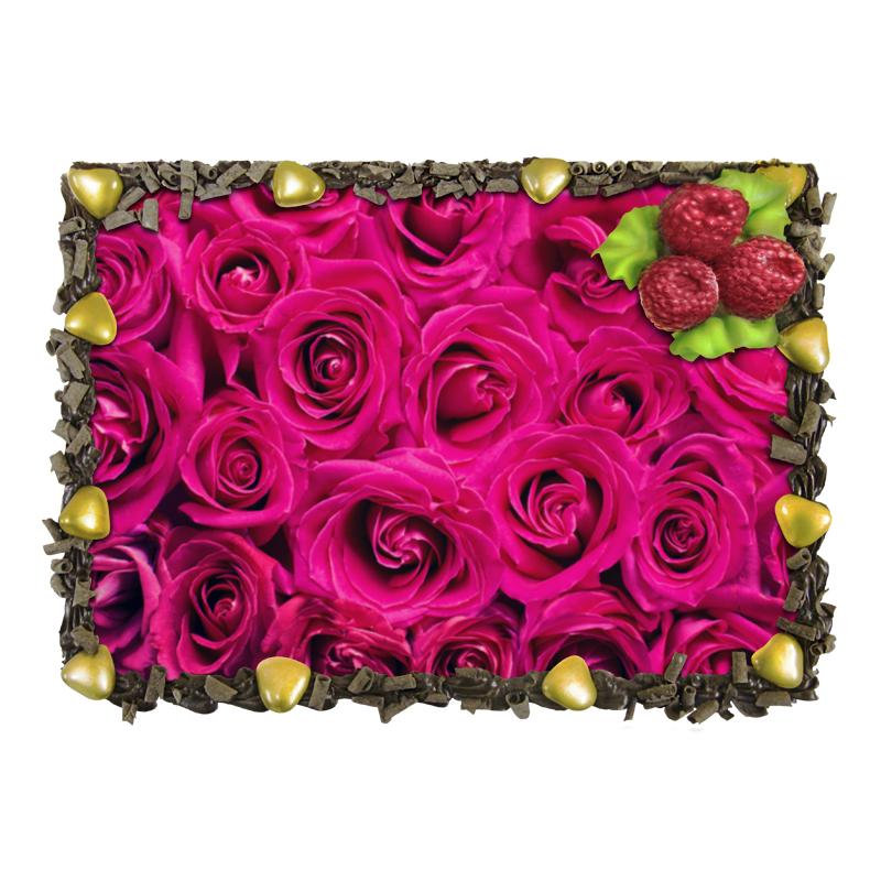Торт Printio Pink roses отсутствует автомир 35 2017