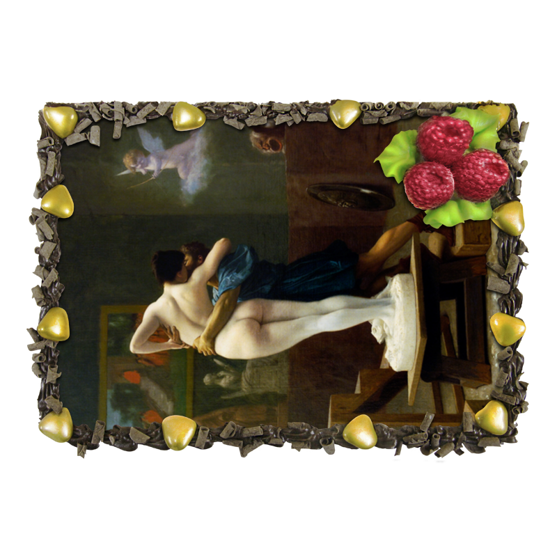 Торт Printio Пигмалион и галатея (жан-леон жером) пигмалион с