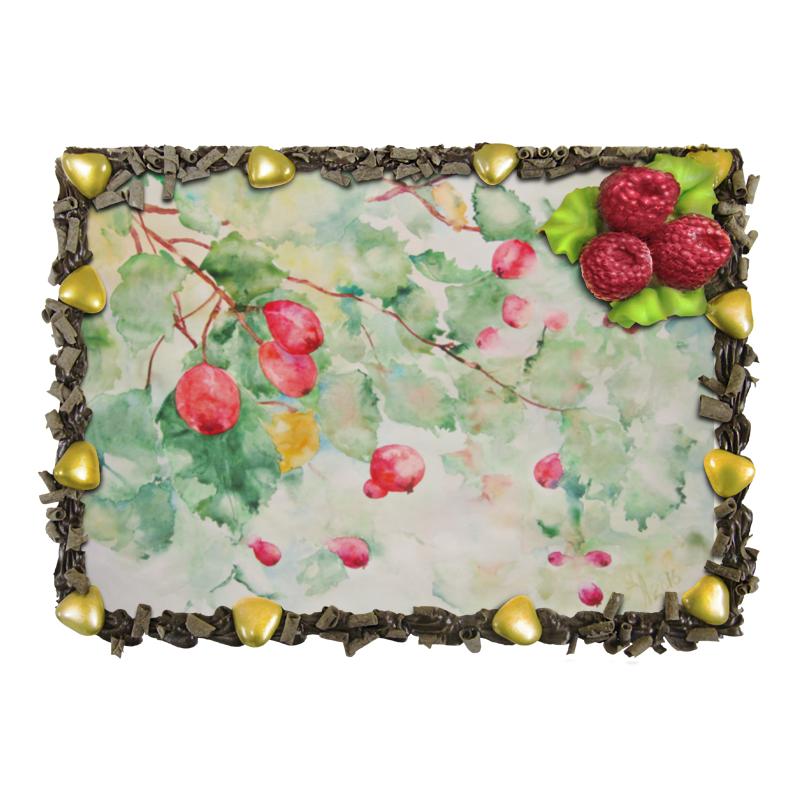 Торт Printio Боярышник и осень светодиодная картина пора чудес