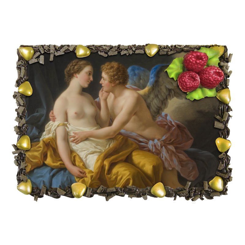 Торт Printio Амур и психея (луи жан-франсуа лагрене) торт printio триумф смерти питер брейгель старший
