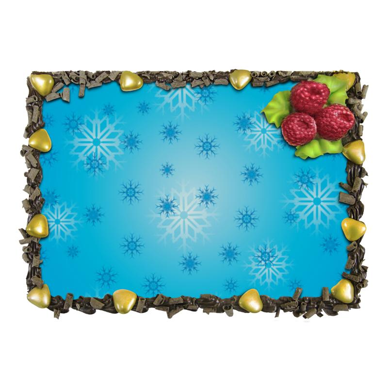 Торт Printio Снежинка торт printio девушка пытающаяся защититься от стрелы эроса