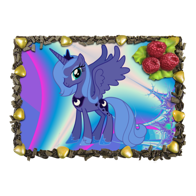 Торт Printio My little pony отсутствует автомир 35 2017