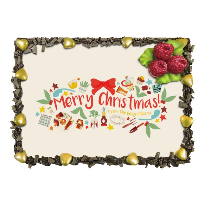 Торт Printio Merry christmas